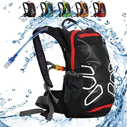 15L waterproof riding helmet backpack Black - 4