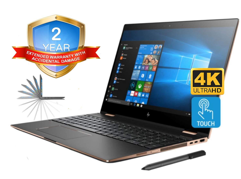 HP Spectre x360 15t Convertible 2-in-1 Laptop (Intel 8th Gen i7-8705G 3.1 GHz, 16GB RAM, 2TB Sata SSD, 15.6
