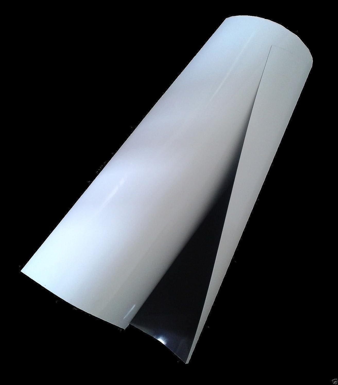 A4 610mm Rolls of 0.85mm Plain Self Adhesive Vinyl Flexible Magnetic Sheeting