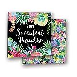 Orange Circle Studio 2019 Album Wall Calendar, Mia Charro Succulent Paradise