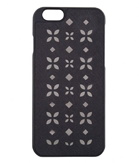 eba9b258b43 Image Unavailable. Image not available for. Color: Michael Kors Electronics iPhone  6 6s Leather Case ...