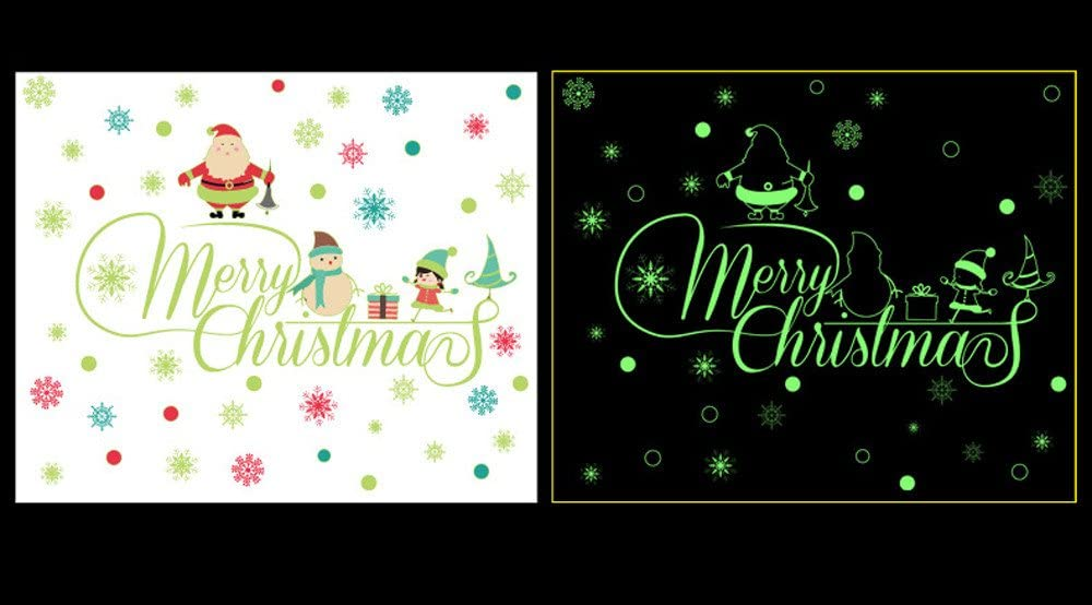 OTTATAT Wall Stickers Flowers 2019,Let it Snow Christmas s Mural Decal Quotes Art Home Decor Easy to Stick Christmas Beach Gift for Children Free Post atform 3//4 Version Message co
