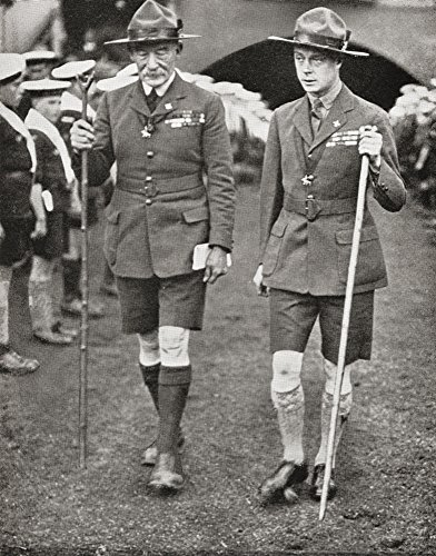 Ken Welsh / Design Pics – The Prince Of Wales Later King Edward Viii With Robert Baden-Powell At The Imperial Jamboree...