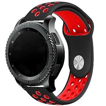 EL-move 20MM Huawei Watch 2 Reemplazo liberación rápida Correa de Reloj Silicona Hebilla Pulsera para Samsung Gear S2 Classic SM-R732 / SM-R7320, ...