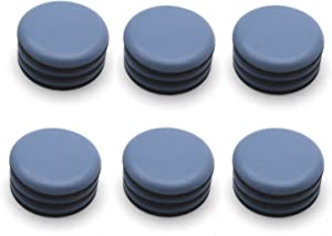 """Antrader 12Pack Self-Stick Furniture Sliders 2"""" Round Table Carpet Ground Protector Furniture Moving Pads"""