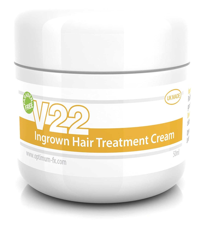 V22 Ingrown Hair Treatment Cream Paraben and Cruelty Free - 50ml