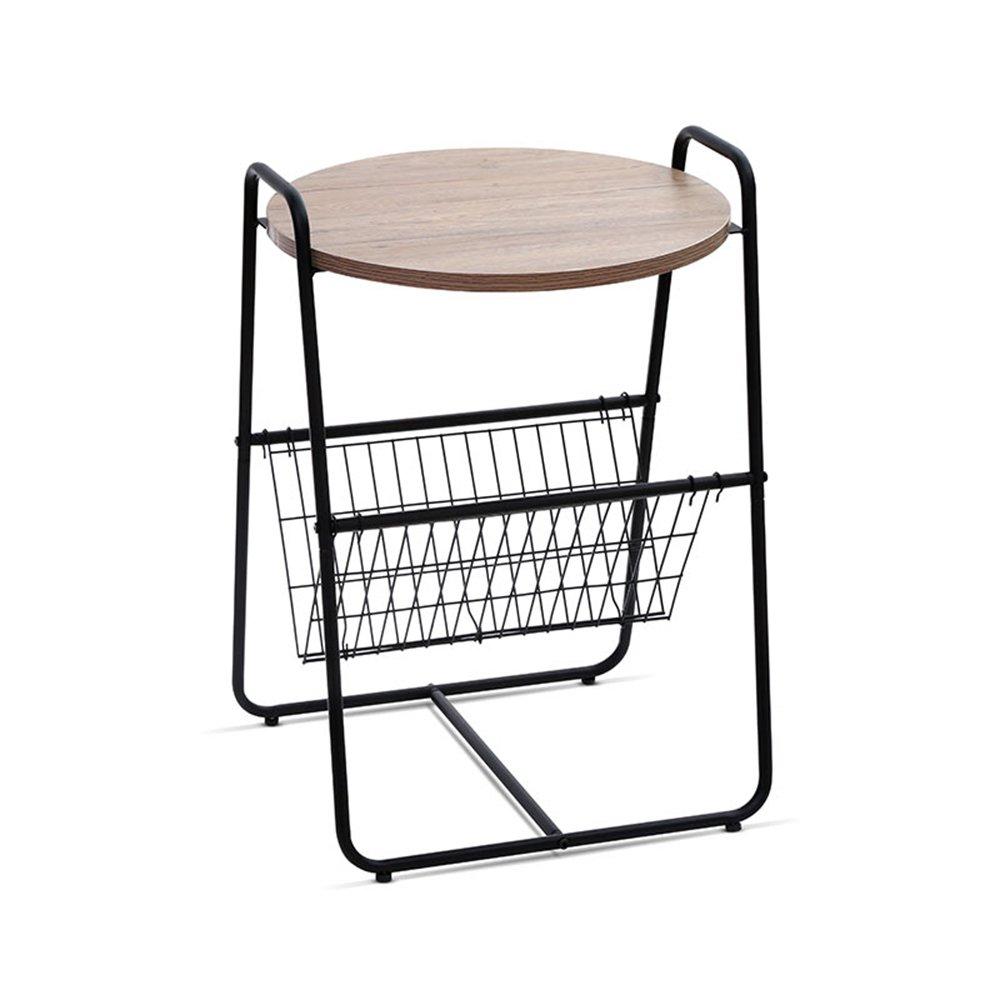 YNN 折り畳みテーブル、カジュアルコーヒーテーブル、ソファサイドテーブル (色 : A) B07F9R763KA