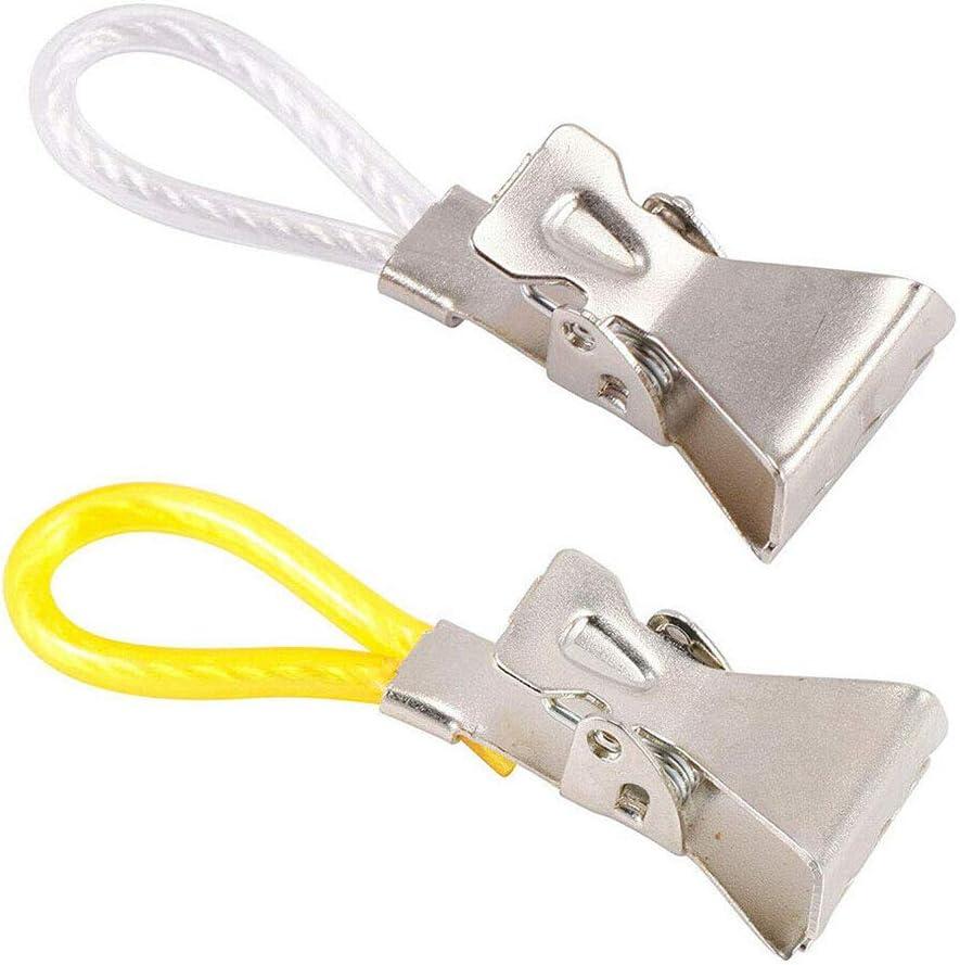 5 DCZKS El sistema de t/é toalla que cuelga en ganchos de clip Loops la toalla de mano Perchas bucles de toallas de tela multifunci/ón alicates Peg camisa carpeta 5 color al azar