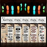 Nail Art Set, Tape Line Nail Stickers, Colored