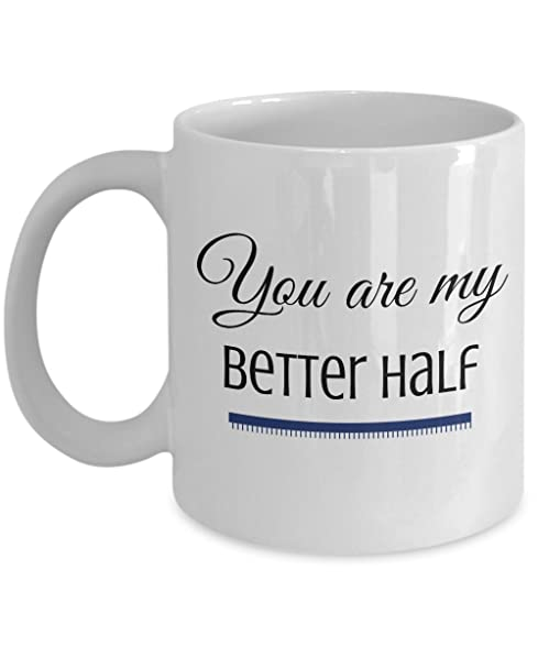 you are my better half gifts couples