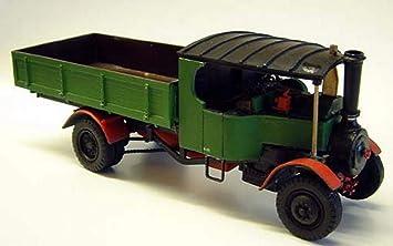 Carro de vapor de tipo Langley Models Broster C O escala sin pintar Metal