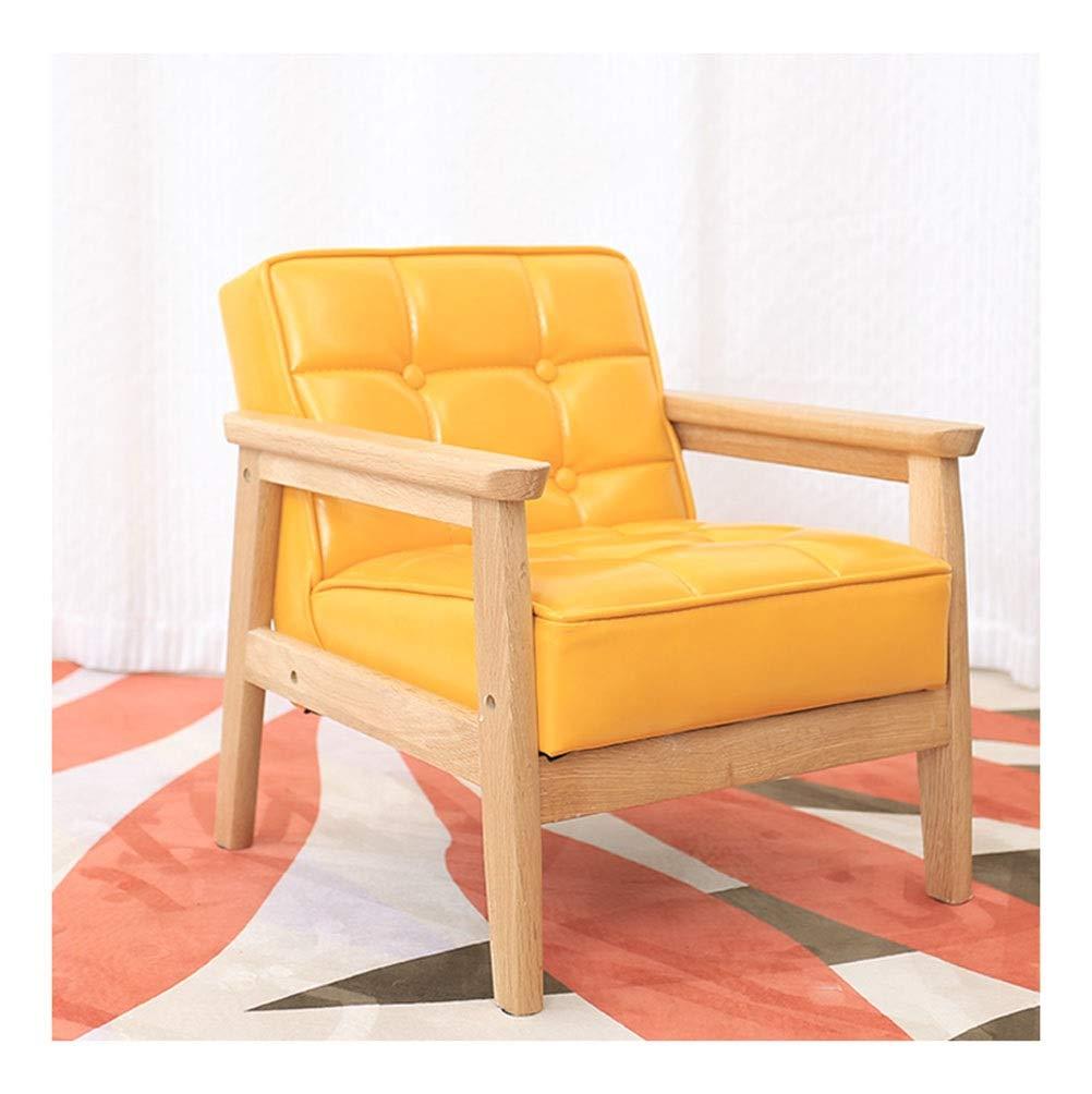 Amazon.com: WYQSZ - Silla infantil de madera maciza de roble ...