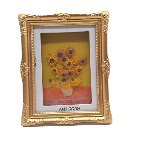 MUYU Magnet Imán para Nevera con diseño de Girasoles de Van Gogh ...