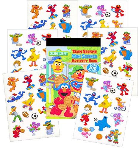 Sesame Street Reward Stickers Activity