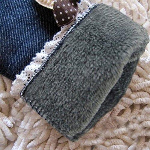 Deniy New Autumn Winter Kids Girls Pants Tousers Leggings Velvet Soft Pants Trousers