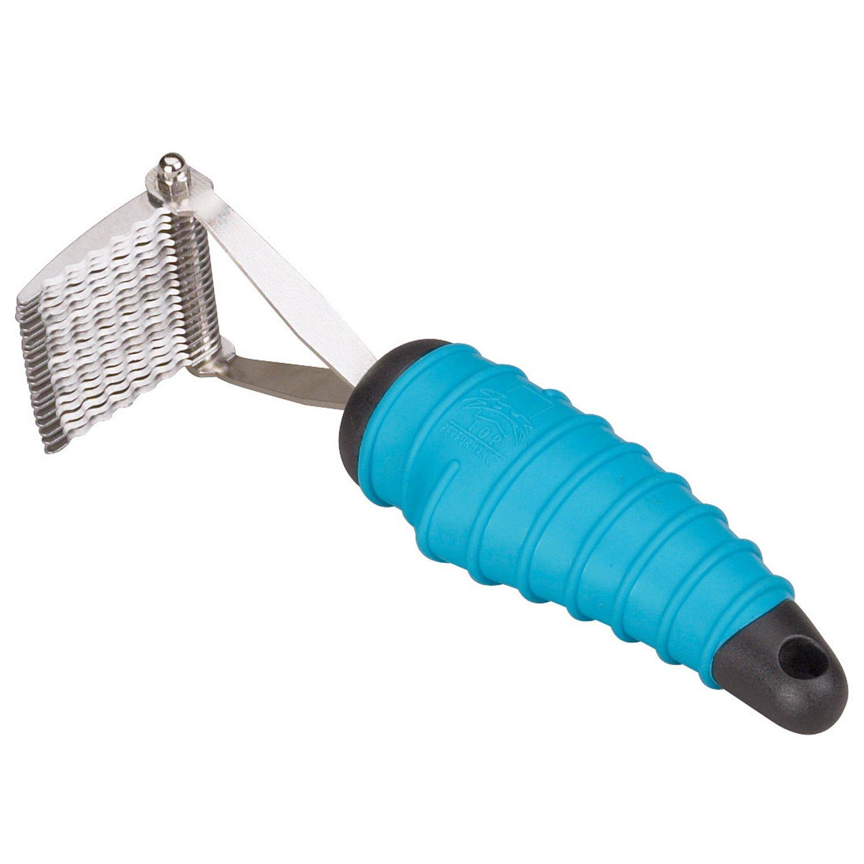 Master Grooming Tools Ergonomic DeMatting Rakes - Innovative Dematting Tools for Grooming Dogs, 20-Blade Style