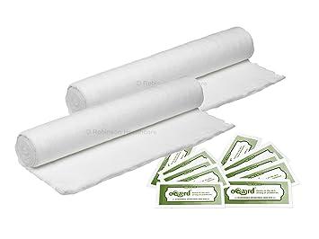 Oqard Robinson - Rollo de gasa de 500 g con toallitas antibacterias BP Quality 2 Gamgee, 10 Wipes: Amazon.es: Informática