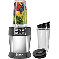 Ninja BL480 Auto-iQ Blender Black & Silver
