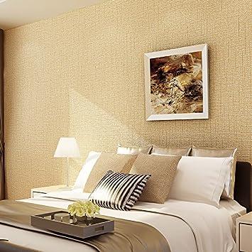 HUANGYAHUIModern Minimalist Living Room Wallpaper Wallpaper Color ...