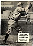 Honus Wagner Signed 7x10 Magazine Page Photo Pittsburgh Pirates - PSA/DNA Certified