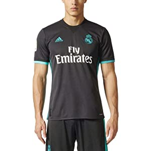 b896bcd80 Amazon.com   adidas Real Madrid Home Shirt 2017 18-Small Adults ...
