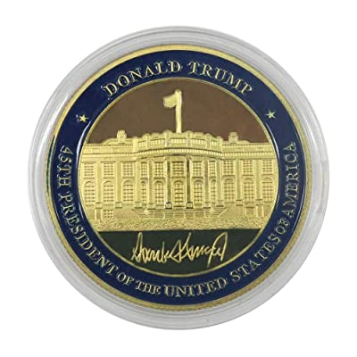 blinkee Seal of The President Donald Trump Challenge Commemorative Coin: Toys & Games