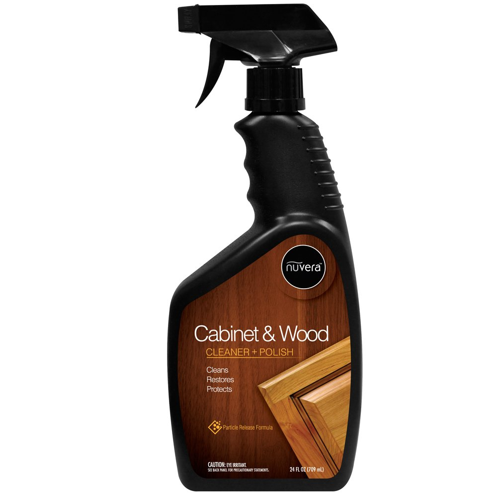 Amazon.com: Nuvera Cabinet and Wood Cleaner - Cleans, Polishes ...