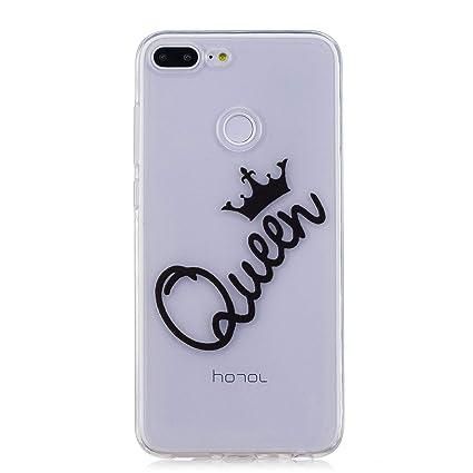 Funda Huawei Honor 9 Lite,Funda Silicona Gel Carcasa Ultra ...