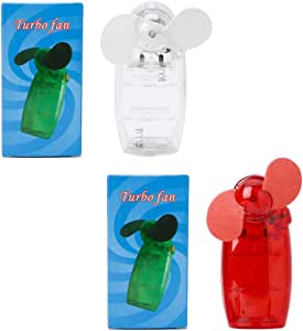 Manyo - 1 mini ventilador de bolsillo, silencioso, pequeño ...