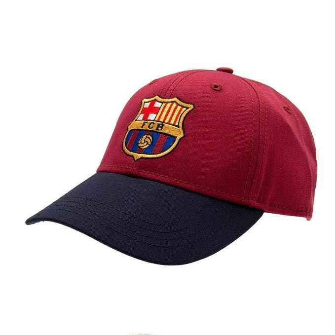FCB FC Barcelona - Gorra con Escudo (Talla Única/Azulgrana): Amazon.es: Ropa y accesorios