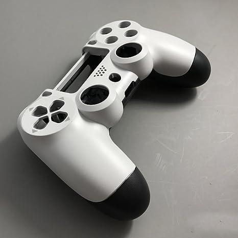 Carcasa de repuesto para mando de PS4, versión antigua, JDS-001, JDS-010, JDS-011 White-Black