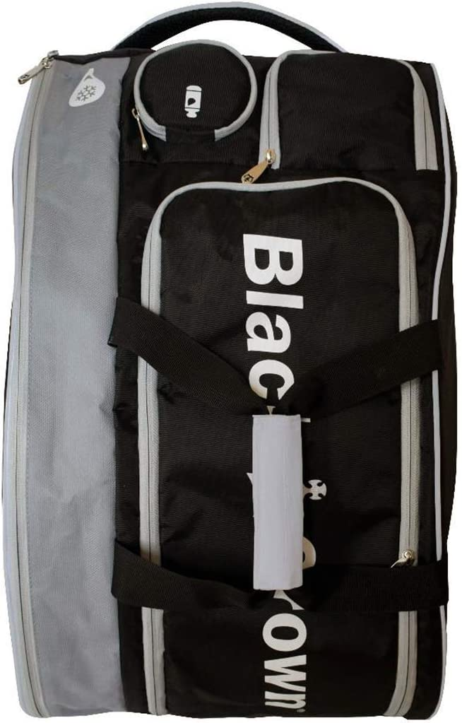 Amazon.com: Bolso de padel negro marrón – plata TRON: Sports ...