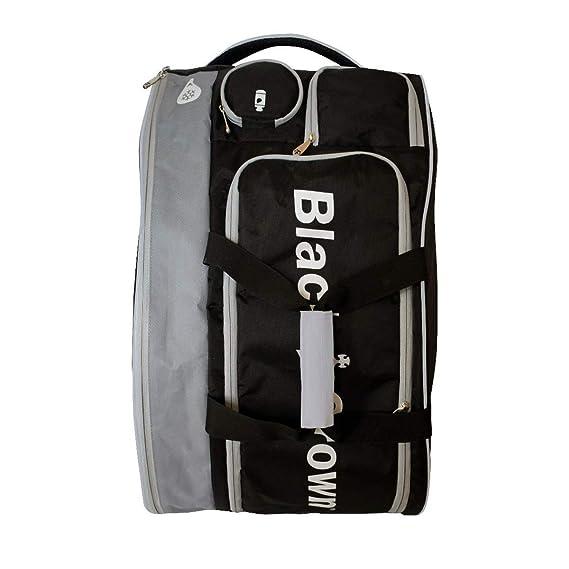 Amazon.com: Bolso de padel negro marrón – plata TRON: Sports ...