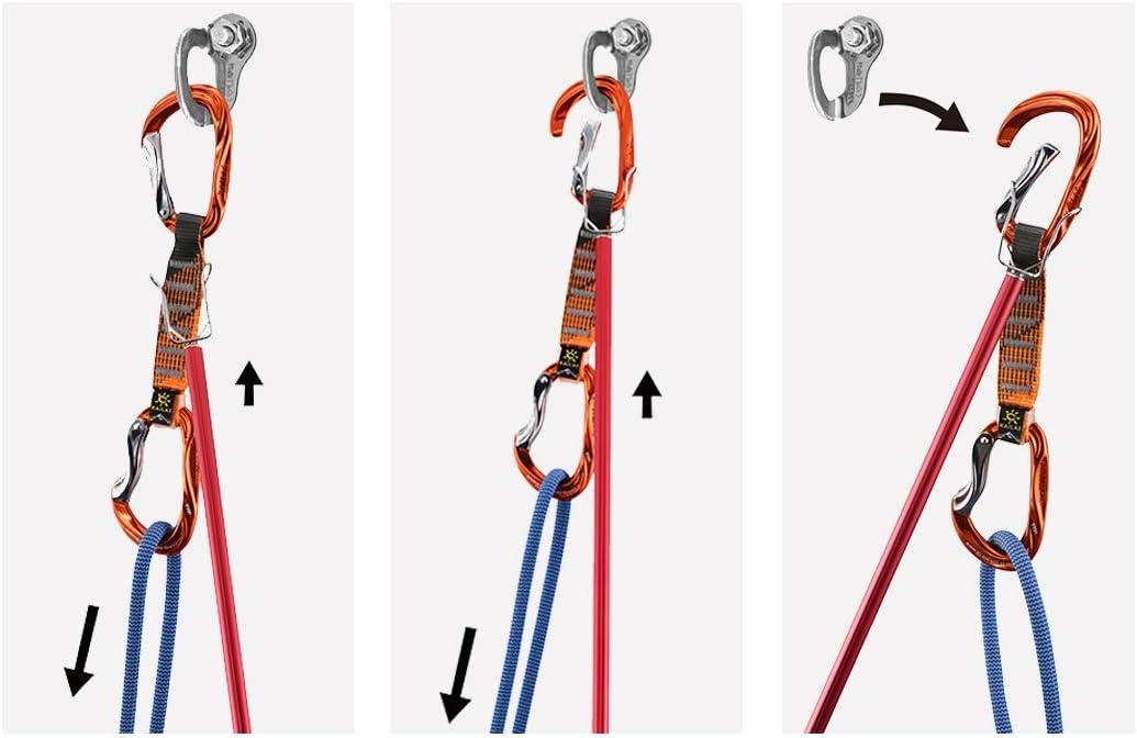 KAILAS - Clip Extensible para bastón de Escalada: Amazon.es ...