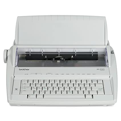 amazon com brother ml 100 daisy wheel electronic typewriter rh amazon com Brother Activator 800T Manual Typewriter Ribbon Spools Brother Activator 800T Manual Typewriter Ribbon Spools