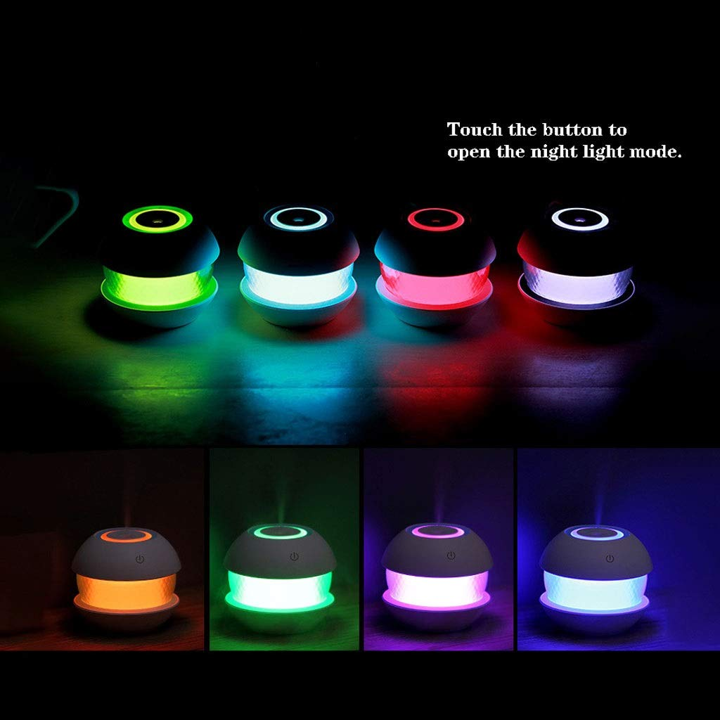Amazon.com: Handheld Humidifier, Creative Colorful Night Light Humidifier Household Clean Air Humidifier Magic Drill Humidifier Aroma Humidifier for Home, ...