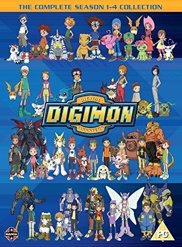 Digimon: Digital Monsters Season 1-4 Boxset DVD Reino Unido: Amazon.es: Steve Blum, Mona Marshall, Tifanie Christun, Derek Stephen Prince, Philece Sampler, Brianne Brozey, Michael Reisz, Mari Devon, Hiroyuki Kakud, Steve Blum, Mona