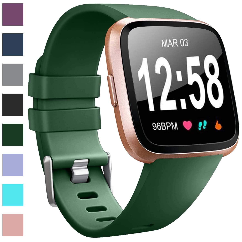 Malla reloj Fitbit Versa/Fitbit Versa Lite/Lite 2 (verde)
