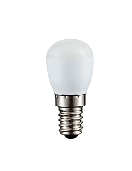 Bombilla pebetero LED 1W mini opal rosca E14 de luz cálida