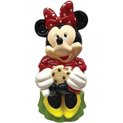 Disney Cookie Jars Amazon Com >> Amazon Com Zrike Disney Disney Minnie Mouse Cookie Jar