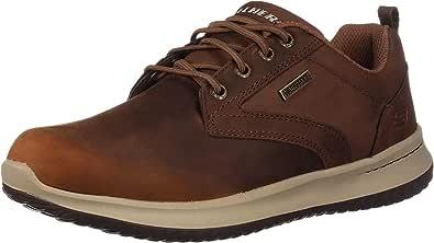 Skechers Delson-Antigo, Zapatos de Cordones Oxford Hombre