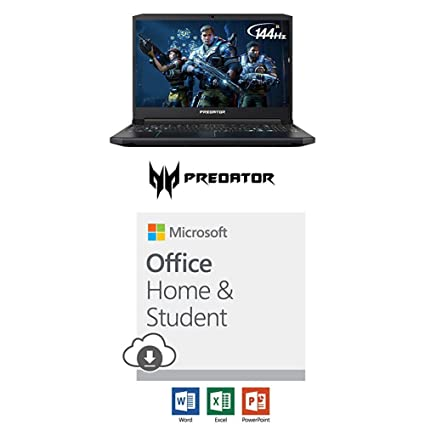 Acer Predator Helios with Microsoft Office Home and Student 2019 Download |  1 person, Compatible on Windows 10 and Apple macOS