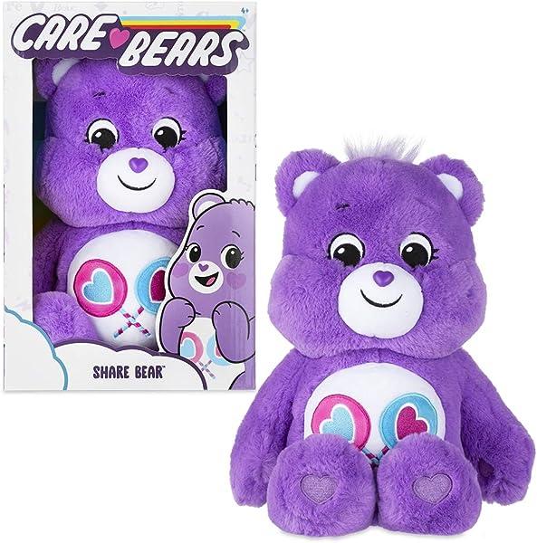 "Care Bears 14"" Medium Plush stuffed animal for kids in package"
