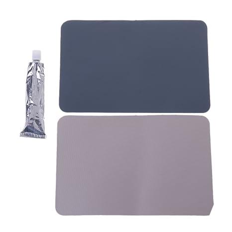 Qiman Kit de Pegamento Adhesivo para Reparación de pinchazos de Piscina, Barco Hinchable, PVC