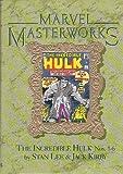 Marvel Masterworks Volume 8: The Incredible Hulk # 1-6