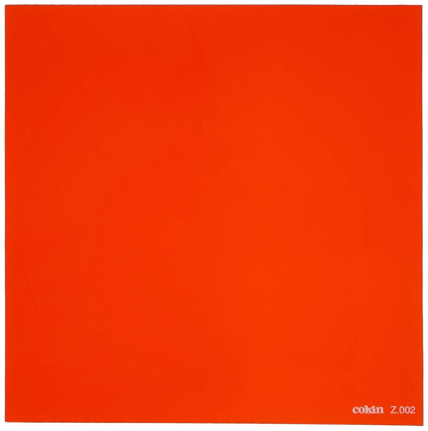 Cokin Square Orange (Z002) - 2/3-Stop for L (Z) Series Holder - 100mm X 100mm by Cokin