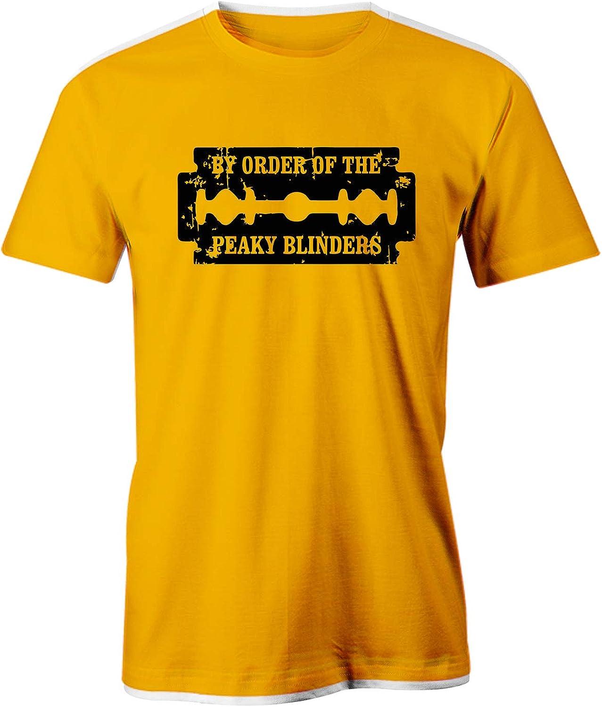 Puzzletee – Camiseta Peaky Blinders – por Order of Peaky Blinders – Tommy Shield – Serie TV – Gangster – Idea regalo