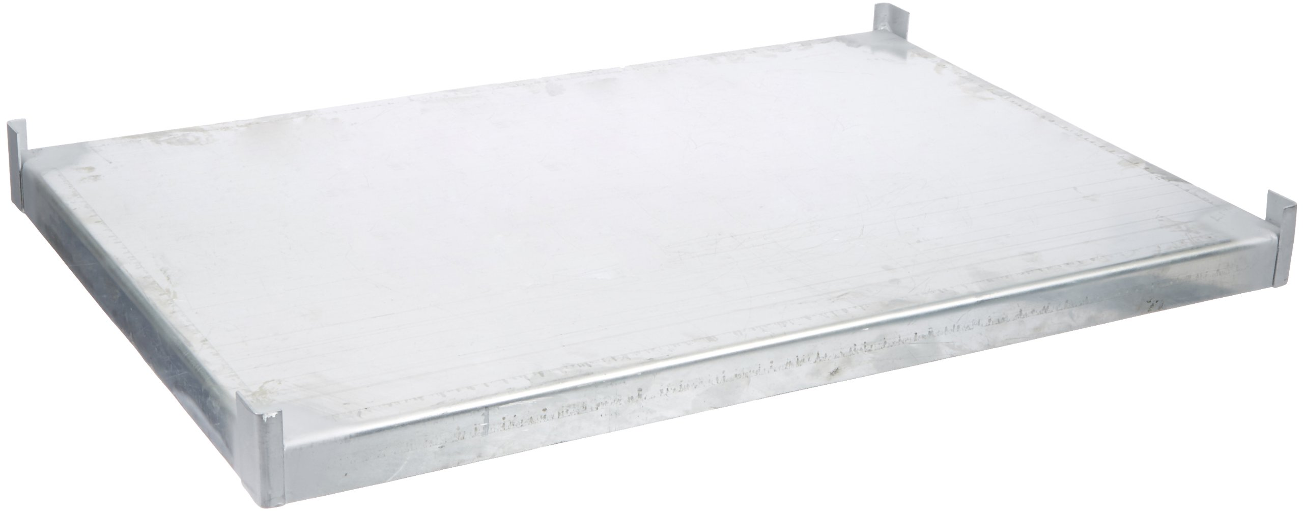 Denios K32-1110 Galvanized Steel Extra Shelf, For 24'' Deep Containment Shelving