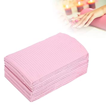 Amazon Com Salon Disposable Table Pad Protector 125 Pcs Nail Art Waterproof Desk Protector Mat Placemat For Manicure Tattoo Ink Dye Practice Beauty