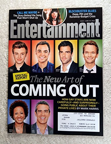 Patrick Neil Harris Gay (Chris Colfer, Jim Parsons, Zachary Quinto, Neil Patrick Harris, Wanda Sykes & Andy Cohen - The New Art of Coming Out - Entertainment Weekly - #1213 - June 29, 2012)
